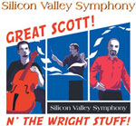 Silicon Valley Symphony Concert: Great Scott! N' The Wright Stuff!